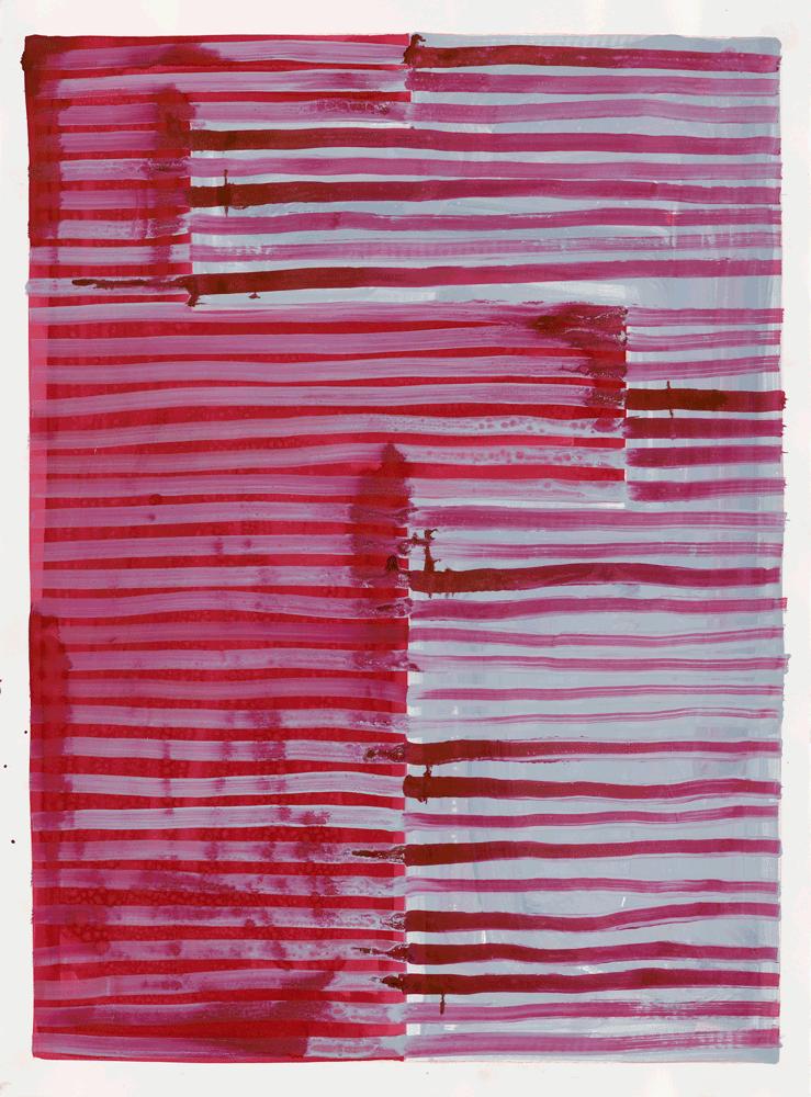 Yvonne Andreini, Moving Roots, 2019, 56 x 75,5 cm, Tusche auf Papier