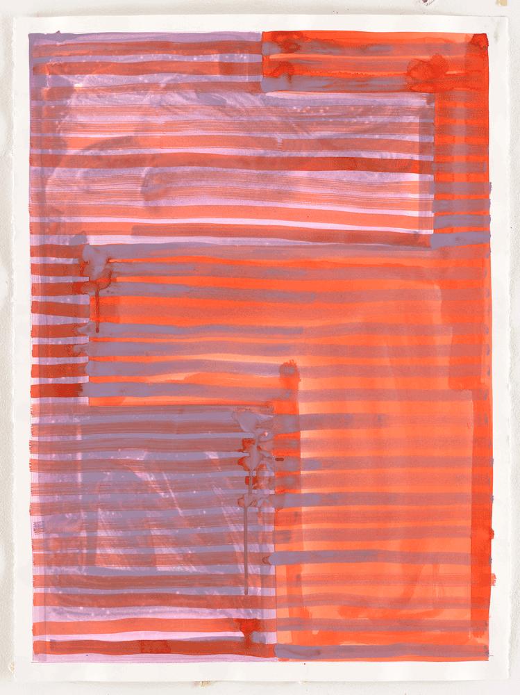 Yvonne Andreini, Moving Roots, 2019, 19,56 x 75,5 cm, Tusche auf Papier